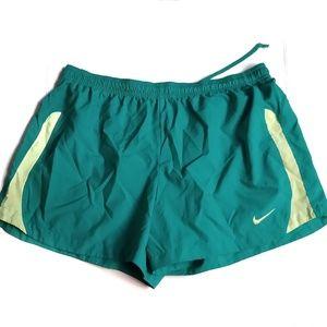 Nike Dri-Fit Running Shorts Green XL